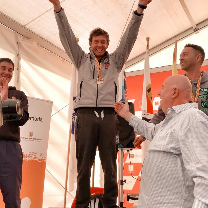 THE WINNER OF THE MASTER OF PALMA INDIVIDUAL IS FROM ITALY