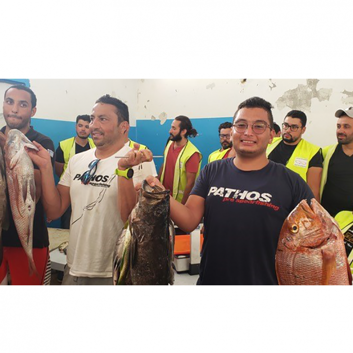 FINAL DAY OF THE TUNISIAN SPEARFISHING CHAMPIONSHIP